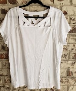 Lane Bryant | fancy white tee